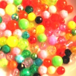 4 mm and 6 mm Mixed Colors Beads